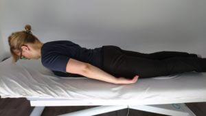 Übung gegen Rückenschmerzen