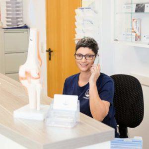 Physiotherapie Praxis Birgel - Empfang
