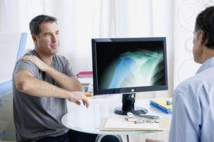 Schultergelenk Schmerzen - Physiotherapie
