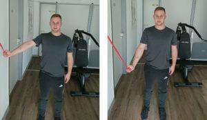 Übung Nr.2 für schmerzfreies Schultergelenk