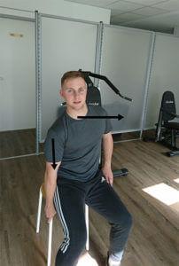 Übung Nr. 6 für schmerzfreies Schultergelenk