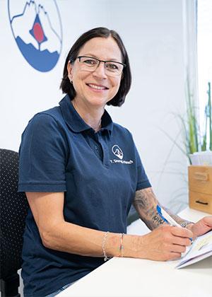 Yvonne Starnell-Harsch | Physiotherapie Reutlingen - Praxis Birgel